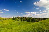 Landscape Thuringia in summertime