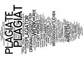 foto of plagiarism  - Word Cloud  - JPG