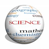 stock photo of criminology  - Science Word Cloud Concept with great terms such as biology earth ecology natural and more - JPG