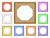 Modern Frame-octagon01