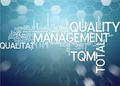 Word Cloud - Total Quality Management
