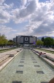 SOFIA, BULGARIA - MAY 02: National Palace of Culture in Sofia. It is the largest multifunctional con