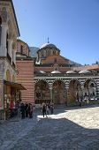 RILA MONASTERY, BULGARIA - MAY 03: Rila Monastery is the largest and most famous Eastern Orthodox mo