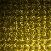 Gold seamless shimmer background with shiny silver and black paillettes. Sparkle glitter background.