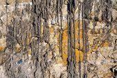 Background of variegated sandstone