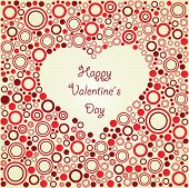 Happy Valentines day. Card