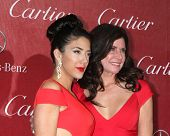 PALM SPRINGS - 4 de JAN: Chianna Maria Bono, Mary Bono en el Palm Springs Film Festival Gala en Palm