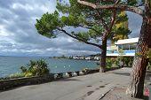 Embankment In Montreux