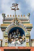 Shiva Family Statue At Sri Naheshwara In Bengaluru.