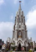 Saint Mary's Basilica In Bangalore.