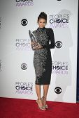 LOS ANGELES - JAN 8:  Nina Dobrev at the People's Choice Awards 2014 - Press Room at Nokia at LA Liv