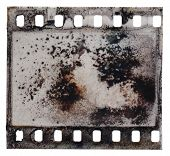 Grained Film Strip Texture