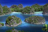 Raja Ampat islands tropical paradise ocean