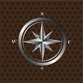 Vector compass background