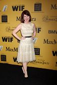 LOS ANGELES - JUN 11:  Kate Flannery at the Women In Film 2014 Crystal + Lucy Awards at Century Plaz