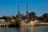 pic of galleon  - SEVILLE - JPG
