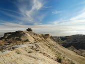 Panorama Of The Cliffs Plateau Shalkar-nura