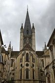 The church Notre Dame in Dijon, France