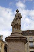 Statue of Jean-Philippe Rameau. Dijon, France