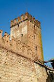 Medieval Old Castle Castelvecchio In Verona, Italy