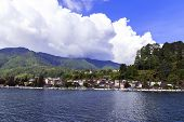 View Of Parapat.