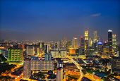 Aerial View Singapore City