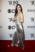 NEW YORK-JUNE 8: Actress Emmy Rossum attends American Theatre Wing's 68th Annual Tony Awards at Radi
