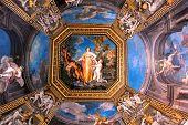 Gallery Ceiling In Vatican Museums