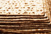 foto of matzah  - Stack of matzot  - JPG