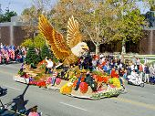 The City Of Glendale 2010 Rose Bowl Parade Float