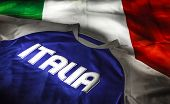 Italian Flag And T-shirt