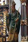 bishop baroque sculpture