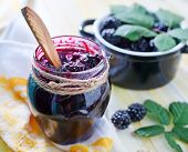 Постер, плакат: blackberry jam