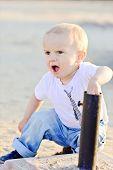 Curious Baby Boy
