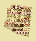 Arizona Word Cloud