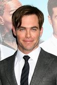 LOS ANGELES - NOV 20:  Chris Pine at the