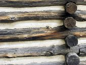 Log Cabin Background