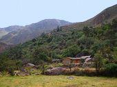 Huts At Colca Canyon
