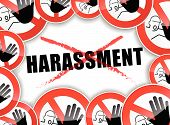 No Harassment Concept