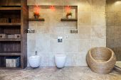 Spacious Bathroom With Closet
