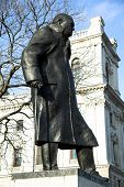 picture of prime-minister  - Statue of Winston Churchill - JPG