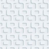Abstract 3d seamless background. Perforated Paper Set. Vector EPS10.