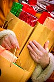Christmas sales - shoping