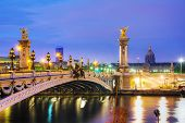 Alexander Iii Bridge In Paris