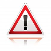 Warning Sign Icon Uk Exclamation