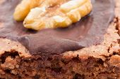 Close-up of a brownie