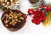 tartlets with chocolate ganache