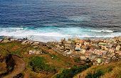 Waves Pounding Mosteiros