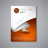 pic of web template  - Modern Vector abstract brochure  - JPG