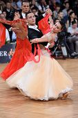 ballroom dancers, dance couple at compatition